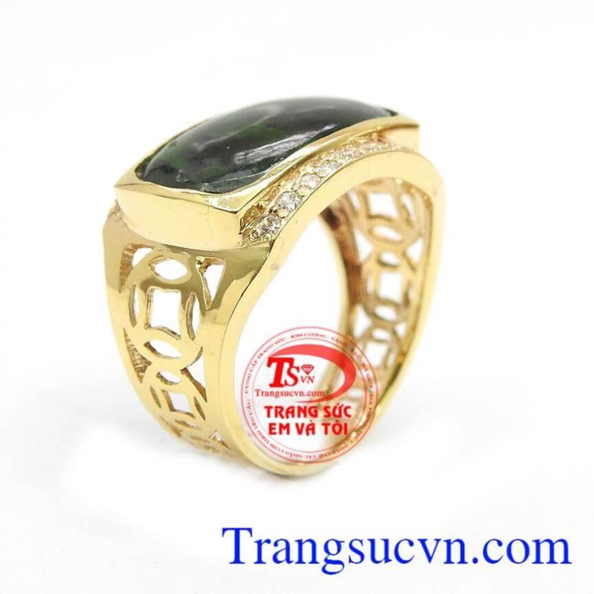 Nhẫn nam vàng sang trọng