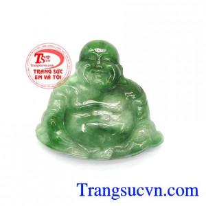 Mặt Phật Di Lặc Cẩm Thạch Thiên Nhiên