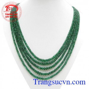Chuỗi Natural Emerald Quý Phái
