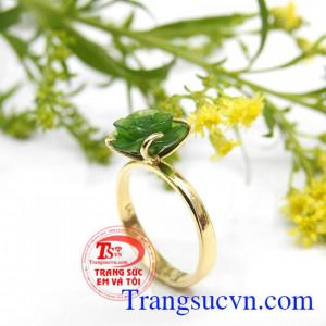 Nhẫn nữ đá quý