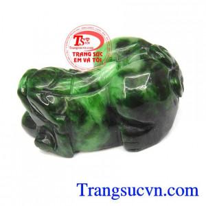 Tỳ hưu jadeite thiên nhiên
