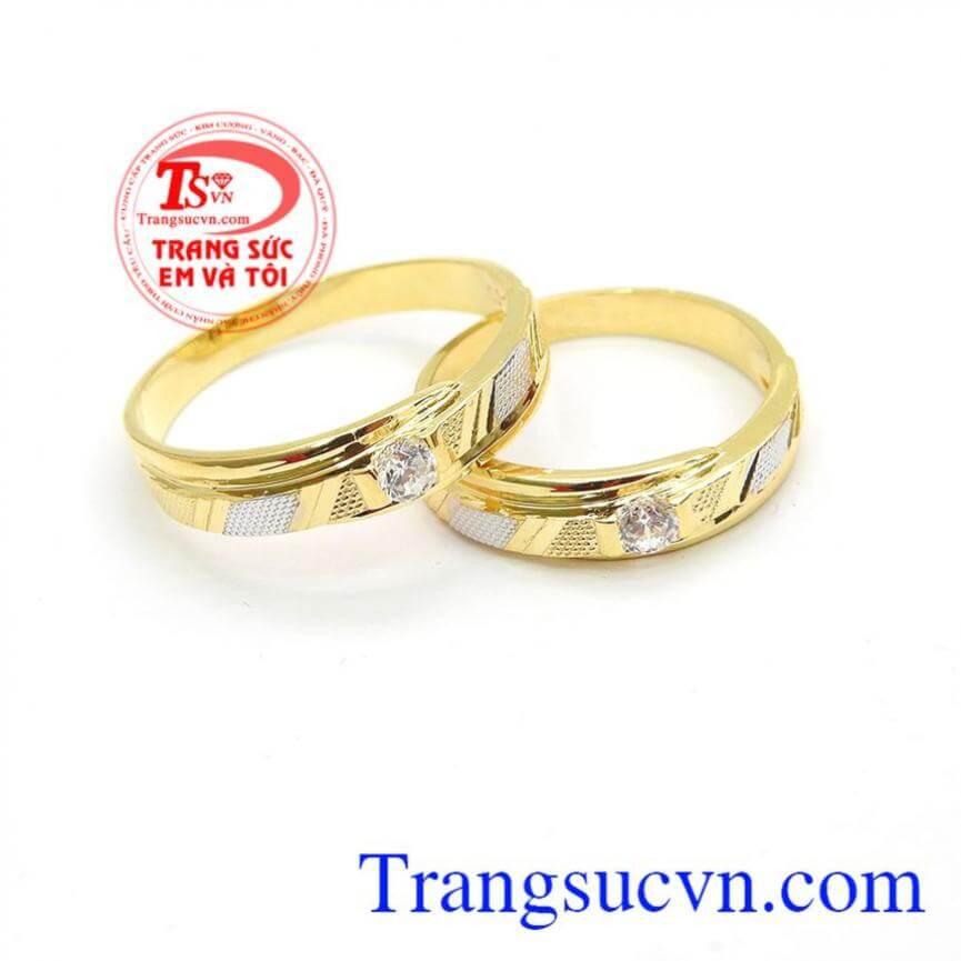 Nhẫn cưới đẹp bên nhau