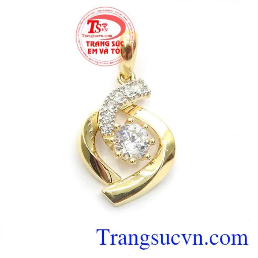 Mặt dây chuyền vàng Korea