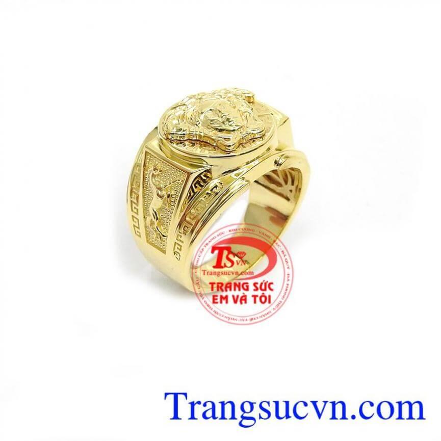 Nhẫn Nam Versace Độc Đáo