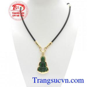 Bộ dây Chuyền Phật Bà Quan Âm Bình An