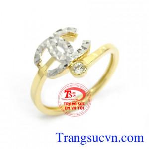 Nhẫn Chanel Sang Trọng Nhập Khẩu