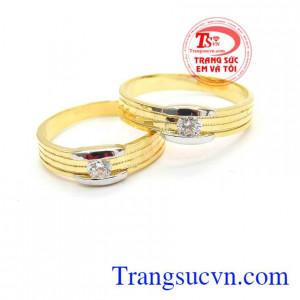 Nhẫn cưới đẹp thủy chung