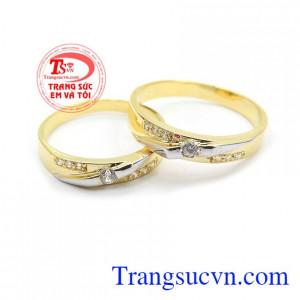 Nhẫn cưới hạnh phúc thủy chung