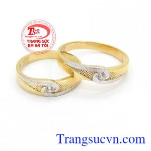 Nhẫn cưới hạnh phúc tình yêu