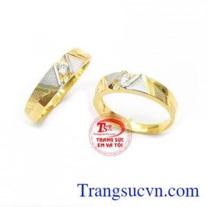 Nhẫn cưới tình yêu bền đẹp bảo hành 6 tháng, giao hàng nhanh trên toàn quốc