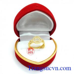 Nhẫn kim tiền độc đáo size bé
