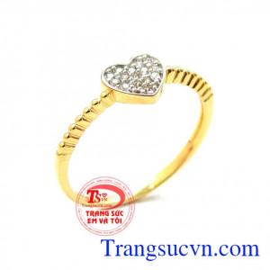 Nhẫn nữ đáng yêu