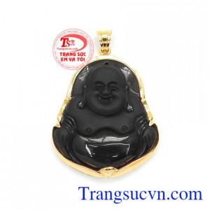 Mặt Phật Bọc Vàng 14k Tài Lộc
