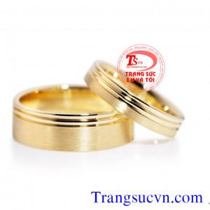 Nhẫn cưới trơn đẹp