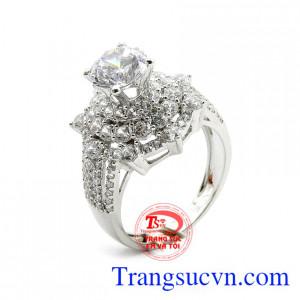 Nhẫn nữ đẹp vàng 18k