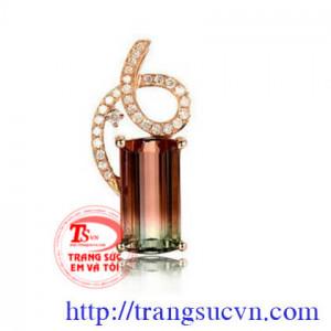 Mặt dây chuyền Tourmaline