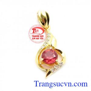 Mặt ruby thời trang