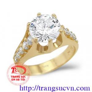 Nhẫn nam kim cương