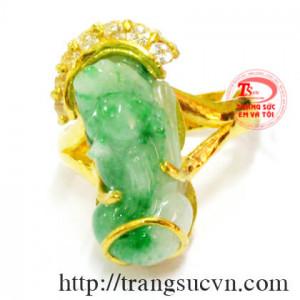 Tỳ hưu ngọc jadeite