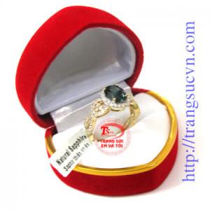 Nhẫn vàng sapphire