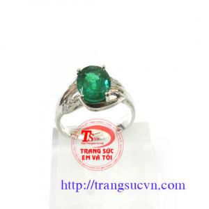 Ngọc lục bảo nhẫn nữ