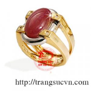 Nhẫn ruby