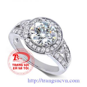 Nhẫn nữ kim cương