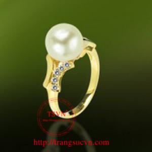 Nhẫn vàng ngọc trai