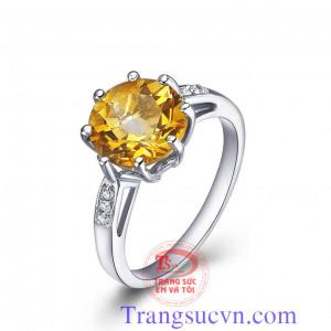 Nhẫn nữ vàng 8 chấu