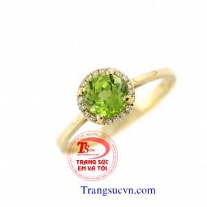 Nhẫn nữ vàng tây đẹp
