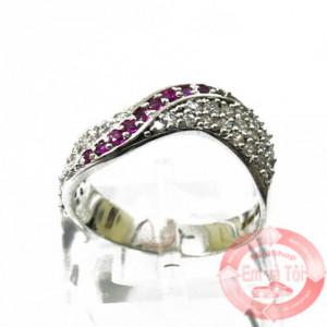 Nhẫn nữ vàng trắng
