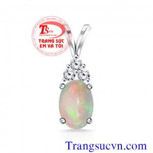 Opal quý mặt dây