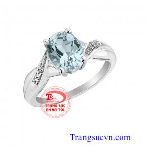 Nhẫn nữ vàng trắng đẹp