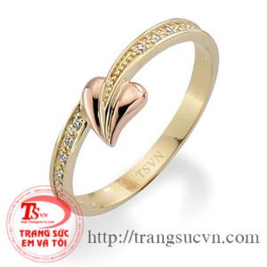 Nhẫn nữ vàng 14K