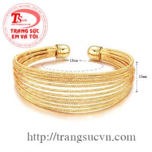 Lắc bằng vàng 14k
