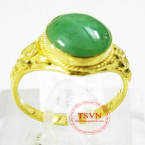 Mặt nhẫn đá quý ngọc cẩm thạch