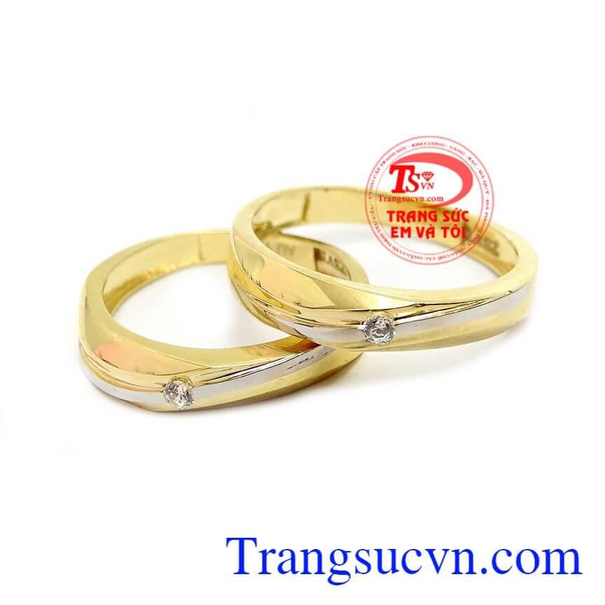 Nhẫn cưới hạnh phúc dài lâu