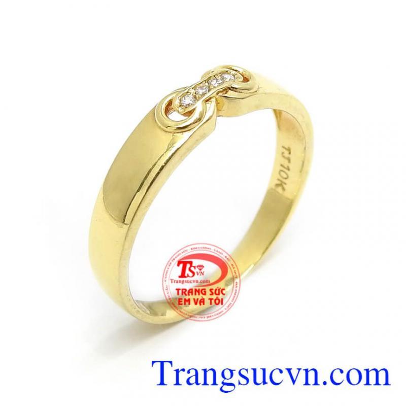 Nhẫn Nữ Vàng Nhỏ Xinh
