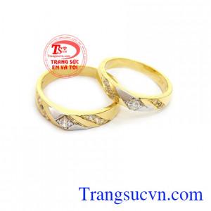 Nhẫn cưới vàng đẹp