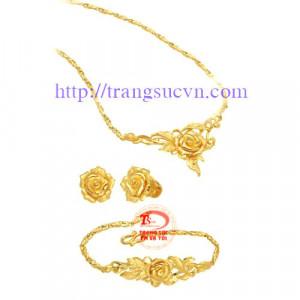 Nữ trang bộ vàng 999