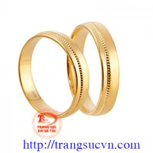 Nhẫn cưới trơn