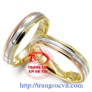 Nhẫn cưới trơn ý nghĩa