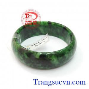 Ngọc cẩm thạch vòng tay bản to