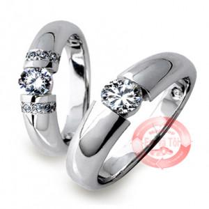nhẫn cưới tình yêu vĩnh cửu