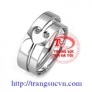Đôi nhẫn cưới phong cách