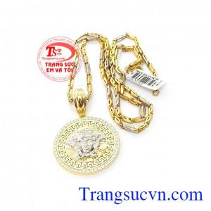 Bộ trang sức versace vàng 10k