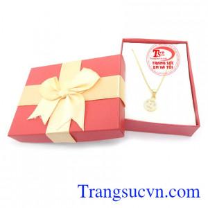 Dây vàng trắng Italy 10k quý phái tinh tế dành cho phái đẹp sản phẩm vàng tây chất lượng hàng đầu
