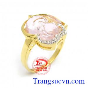 Nhẫn Nữ Hồ Ly Tài Lộc
