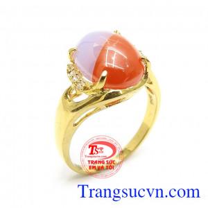 Nhẫn Nữ Vàng Tây Xinh Xắn