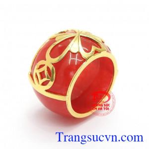 Nhẫn Ngọc Cẩm Thạch Hưng Vượng